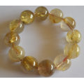 Rutilated Quartz Crystal assists with your mental focus